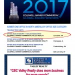 CBC Valley Realty Recognized As #1